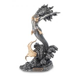 """Статуэтка Veronese """"Богиня Йемайя - покровительница рожениц"""" (black/gold)"""