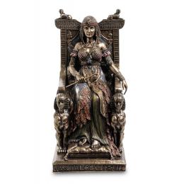 """Статуэтка Veronese """"Египетская царица на троне"""" (bronze)"""