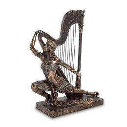 "Статуэтка Veronese ""Египтянка с арфой"" (bronze)"
