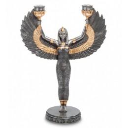 "Статуэтка Veronese ""Исида - богиня материнства и плодородия"" (black/gold)"