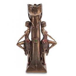 "Статуэтка Veronese подсвечник ""Девушки у колонны"" (bronze)"