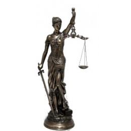 """Статуэтка большая богиня правосудия """"Фемида"""" 79см"""