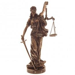 """Статуэтка Veronese """"Богиня правосудия Фемида"""" 28см (bronze)"""