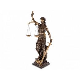 """Статуэтка Veronese """"Фемида - богиня правосудия"""" 75см (bronze/gold)"""