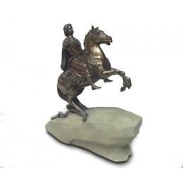 """Статуэтка """"Пётр I на коне"""""""