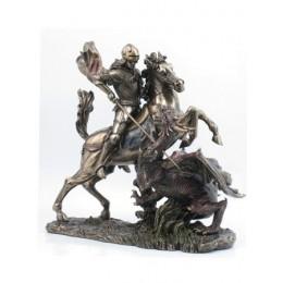 """Статуэтка Veronese """"Георгий Победоносец"""" 33см (bronze)"""