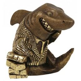 "Скульптура ""Акула бизнеса"""