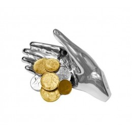 "Статуэтка Exetera Argenti ""Рука удачи с золотыми монетами"""