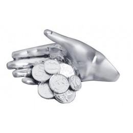 """Статуэтка Exetera Argenti """"Рука удачи"""", серебрение матовое"""