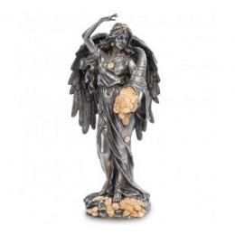 """Статуэтка Veronese """"Фортуна - Богиня счастья и удачи"""" (black/gold)"""