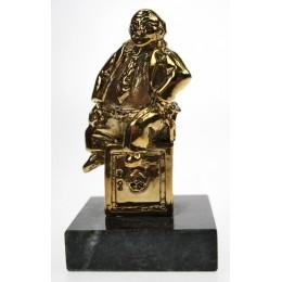 """Бронзовая статуэтка """"Банкир"""" выс.7см"""