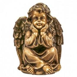 """Декоративная статуэтка """"Задумчивый ангел"""", выс.27см"""