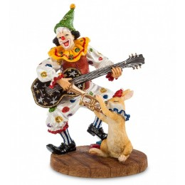 "Фигурка Verones ""Клоун с гитарой"" 16см"