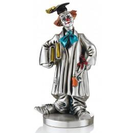 "Посеребренная статуэтка Mida 120285 ""Клоун Лауреат"" 23см"