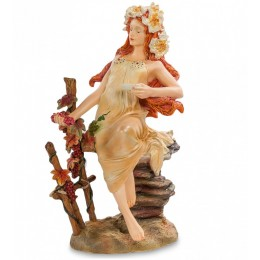 "Статуэтка Parastone ""Девушка Осень"" Альфонса Мухи (Museum.Parastone)"