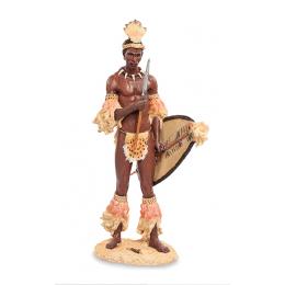 """Статуэтка Veronese """"Африканский воин"""" (color)"""