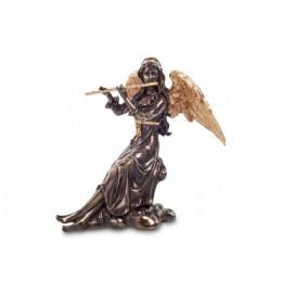 "Статуэтка Veronese ""Ангел, играющий на флейте"" (bronze/gold)"