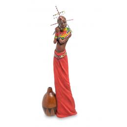 """Статуэтка Veronese """"Девушка племени Масаи"""" (color)"""