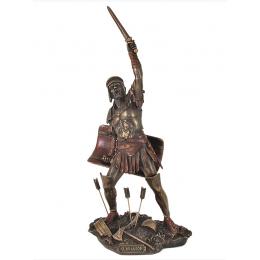 """Статуэтка Veronese """"Гладиатор с оружием"""" 31см (bronze)"""