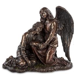"""Статуэтка Veronese """"Иисус и Ангел"""" (bronze)"""