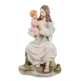 """Статуэтка Veronese """"Иисус с ребенком"""" (color)"""