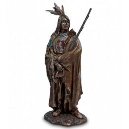 """Статуэтка Veronese """"Индеец с ружьем"""" (bronze)"""