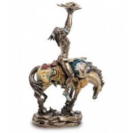 """Статуэтка Veronese """"Индеец с трофеем"""" (bronze)"""