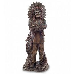 """Статуэтка Veronese """"Индейский вождь"""" (bronze)"""