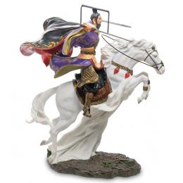 "Статуэтка Veronese ""Китайский воин на коне"" (color)"