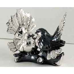 Подарочная статуэтка «Пара Голубей на жерди »