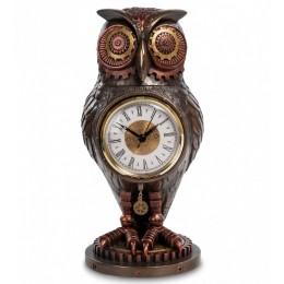 "Статуэтка-часы Veronese в стиле Стимпанк ""Сова"" (bronze)"