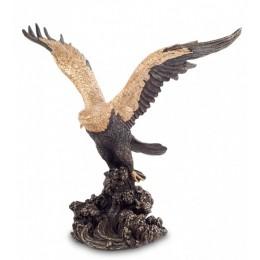 """Статуэтка Veronese """"Орел на охоте"""" (bronze/gold)"""