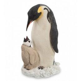 """Статуэтка Veronese """"Пингвин с детенышем"""" (color)"""