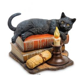"Статуэтка Veronese ""Кот на книгах"" (Лиза Паркер) (color)"