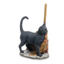 "Статуэтка Veronese ""Кот с метлой"" (Лиза Паркер) (color)"
