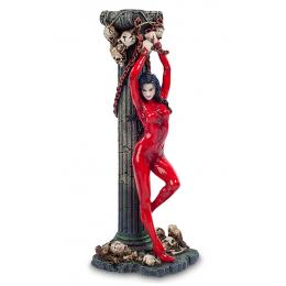 """Статуэтка Veronese """"Женщина в красном"""" (color)"""