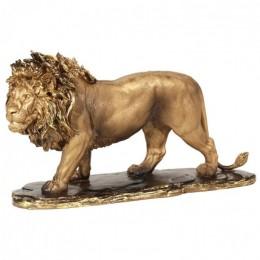 """Декоративная статуэтка """"Гордый лев"""", выс.24см"""