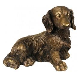 """Скульптура """"Охотничья собака-такса"""""""