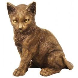 """Скульптура """"Статный котенок"""""""