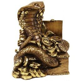 """Скульптура """"Змей-хранитель благосостояния"""""""