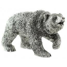"""Статуэтка Argenti Piu """"Медведь на охоте"""" l.17см"""