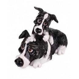 Статуэтка Arora Design бордер-колли и щенок Border Collie&Pup