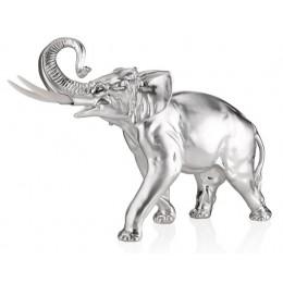 """Статуэтка с посеребрением Valenti 17882 """"Слон"""" 32см"""