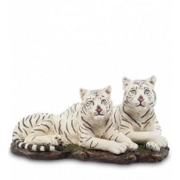 """Статуэтка Veronese """"Белые тигры"""""""