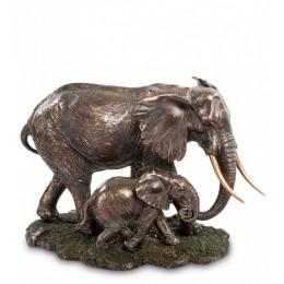 "Статуэтка Veronese ""Слон с детенышем"" (bronze)"