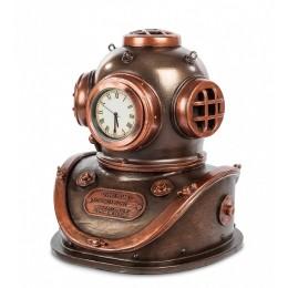 """Часы Veronese в стиле Стимпанк """"Водолазный шлем"""" (bronze)"""