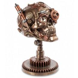 """Фигура Veronese в стиле Стимпанк """"Череп"""" (bronze)"""