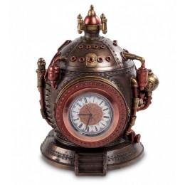 """Шкатулка с часами в стиле Стимпанк Veronese """"Машина времени"""" (bronze)"""