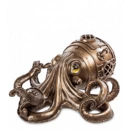 """Шкатулка Veronese в стиле Стимпанк """"Осьминог"""" (bronze)"""