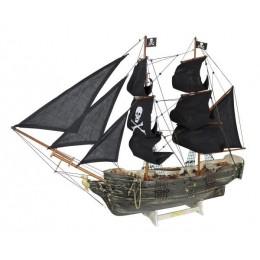 Модель парусного пиратского корабля, 78 см.